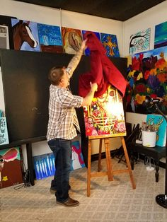 Paint Party, Studio, Studios