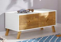Home affaire Bank «Rondo», Breite 100 cm für 99,99€. Pflegeleichte Oberfläche, FSC®-zertifiziert, Korpus aus Holzwerkstoff bei OTTO