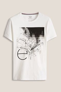 www.davidemartini.ink for Esprit / Jersey T-Shirt Print conceptual  collection abstract