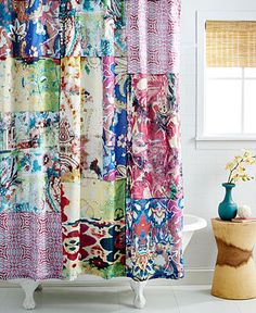 Tracy Porter Leandre Shower Curtain...just purchased...love the colors!