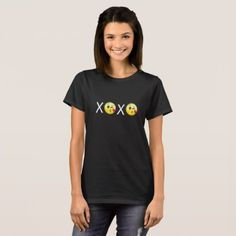 "#""XOXO"" Emojis T-Shirt - #emoji #emojis #smiley #smilies"