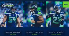 Seahawks Football, Seattle Seahawks, Bobby Wagner, Russell Wilson, Sports, Hs Sports, Sport