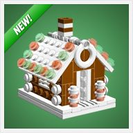LEGO Christmas Gingerbread House by Chris McVeigh - Trend lego Characters 2019 Lego Christmas Ornaments, House Ornaments, Kids Christmas, Xmas, Christmas Patterns, Lego Gingerbread House, Van Lego, Lego Club, Lego Craft