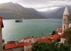 The Bay of Kotor seen from Perast in south-western Montenegro (by David&Bonnie).