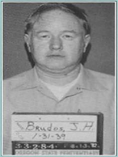 """Jerome Brudos (January 31, 1939 – March 28, 2006) was an American serial killer and necrophiliac, also known as """"The Lust Killer"""" and """"The Shoe Fetish Slayer"""". Between 1968 and 1969, Brudos bludgeoned and strangled four young women. After committing a murder, he would dress up in high heels and masturbate. He confessed to murdering 3 women, and was sentenced to life in prison. He died in prison on March 28, 2006 from liver cancer."""
