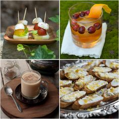 Happy Holidays, everyone! Wishing you a fun-filled holiday break with good food and warm drinks! Here are a few ideas: Easy Party Appetizers...