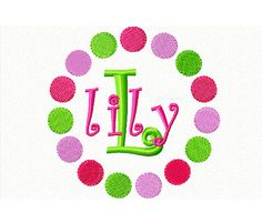 Baby Girls Bib Personalized Embroidered Pink by ChainStitchers
