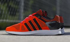 "adidas Adizero Feather Primeknit ""Solar Red & Black"" - EU Kicks: Sneaker Magazine"