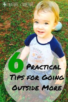 Practical steps you can take to make outdoor activities and going outside part of your lifestyle - no matter how busy you are!