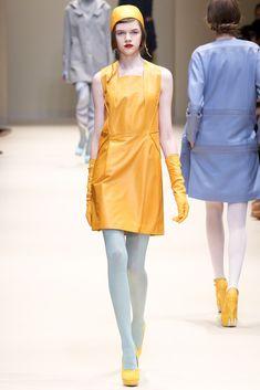 Cacharel Fall 2012 Ready-to-Wear Fashion Show - Antonia Wesseloh (Elite)