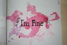Ecoline & Fineliner illustration made by Elle .