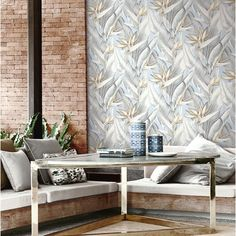Arcadia Wallpaper. Brewster Kenneth James Palm Springs.
