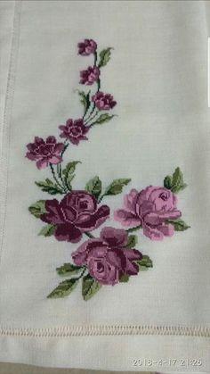 Tulip silhouette cross stitch pattern in pdf Cross Stitch Borders, Cross Stitch Rose, Cross Stitch Flowers, Cross Stitch Designs, Cross Stitching, Cross Stitch Embroidery, Cross Stitch Patterns, Hand Embroidery Designs, Embroidery Patterns