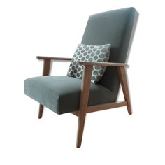 1000 id es sur le th me fauteuil crapaud gris sur - Fauteuil crapaud vert ...