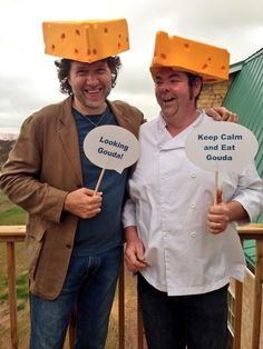 Congratulations to Chef Jeff 'The Big Cheese' on the official opening of @GlasgowGlenFarm #CheeseHeads #PEIFlavours