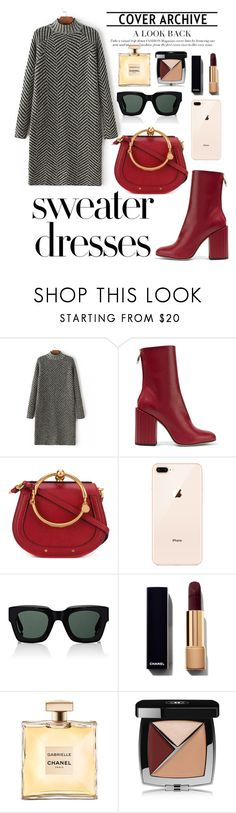 """""""Untitled #799"""" by xmaszevs ❤ liked on Polyvore featuring Petar Petrov, Chloé, Givenchy, Chanel and sweaterdresses"""