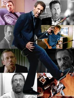 Is it bad that he is old enough to be my father, but I still want to bang him. Gregory House, House Md, I Love House, House And Wilson, Medical Series, Tv Show House, Hugh Laurie, Flims, Home Wallpaper
