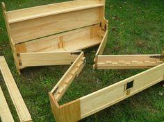 Box --> Camp Bed!