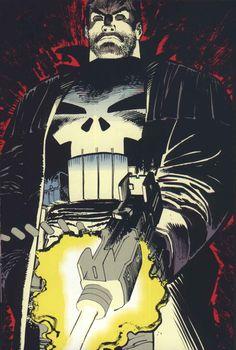 ✭ The Punisher by John Romita Jr.