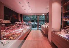 """Diseño de carnicería. Proyecto de Interiorismo Comercial para """"Carnicería Escofet""""- Charcutería - Butcher shop - boucher - charcuterie - butchery - macello - macelleria - бойня"""