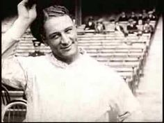 One Of The Greatest Sports Moments Ever - Lou Gehrig - The Pride of the Yankees