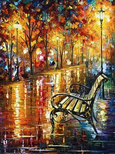 Memories Painting by Leonid Afremov - Memories Fine Art Prints and Posters for Sale
