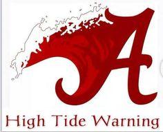 Oh yeah Roll Tide Roll! Roll Tide Football, Crimson Tide Football, Alabama Football Funny, American Football, Football Sayings, Miami Football, Football Pics, Football Baby, Football Season