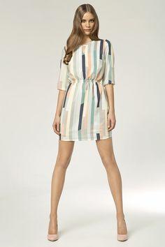 Vestido Miss Sheriff Estampado #summer2014 #modaverao2014 #colecao2014  #cool #fashion #modelo #charme #glamour