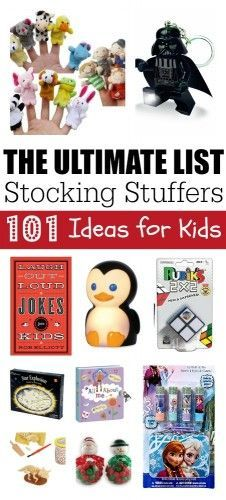 Ultimate Stocking Stuffer List 101 Ideas for Kids
