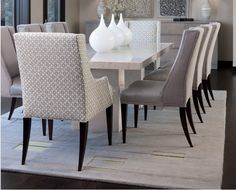 1000 ideas about chaise salle a manger on pinterest upholstered dining cha - Chaise tressee salle manger ...