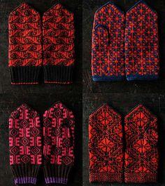 Latvian mittens on Japanese website
