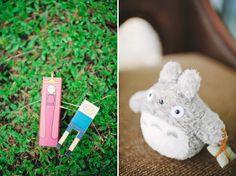 "Kawaii stuff Adventure Time cake topper Totoro ""ring bearer"" Guads & Sega #martandsega Geek Wedding, Totoro, Destination Wedding Photographer, Adventure Time, Dinosaur Stuffed Animal, Geek Stuff, Wedding Photography, Kawaii, Christmas Ornaments"