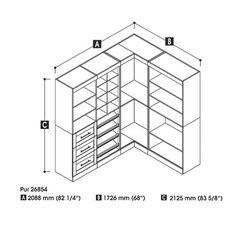 Corner Storage Shelf Kit at Joss and Main