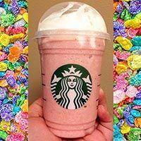 Starbucks Fruity Pebbles Frappuccino - Make Drinks