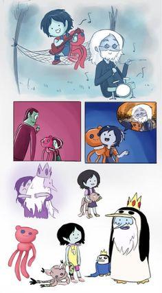 Marceline and Simon more like nope shut up too sad