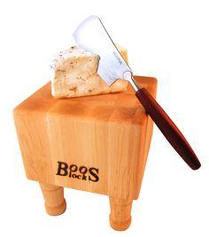 $69 Cutting Board John Boos with Cheese Slicer via @butcherblockco www.butcherblockco.com