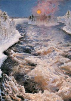 Scandinavian Paintings, Scandinavian Art, New Artists, Great Artists, Helsinki, Life Paint, Russian Painting, Nordic Art, Canadian Art