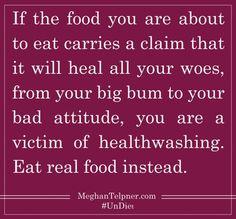 Quotasm #Healthwashing #UnDiet