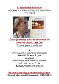 Rencontre autour de l'oeuvre de François-René Daillie.