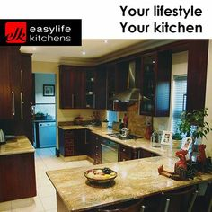 Easylife Kitchens George has professional and experienced staff that will assist you with the layout and design of your dream kitchen, using state-of-the-art computer-aided design technology. Kitchen Cabinets, Kitchen, Dream Kitchen, Cupboard, Home Decor