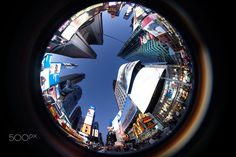 Times Square, Fisheye New York City, United States New York City, Times Square, United States, Canada, The Unit, Usa, New York, Nyc, U.s. States