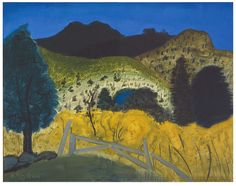 Art Collection, f0rtylegz:   ~Milton Avery~      Green Landscape  ...