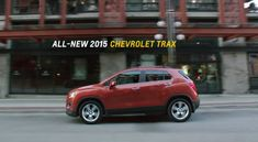 2015 Chevy Trax | 2015 Chevy Trax Earns IIHS Top Safety Pick