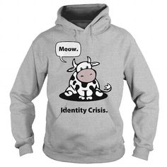 Awesome Tee Identity Crisis Cows 1116  Shirts & Tees