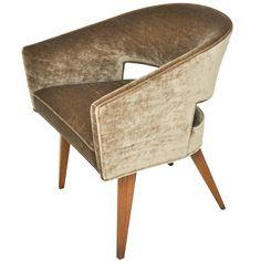 Dunbar Open Back Lounge Chair - Edward Wormley