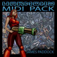 Harmony Midi Pack by James Paddock - Artwork by Thomas van der Velden Stream it from Bandcamp