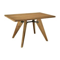 This table has all the makings of a lifelong dinner companion. Its ash-wood construction, attention-grabbing legs, elegant simplicity make it a versatile kitchen staple. Even long after it's dining day...  Find the Junction Dining Table, as seen in the Free Shipping Day Master Collection at http://dotandbo.com/collections/free-shipping-day-master?utm_source=pinterest&utm_medium=organic&db_sku=115458