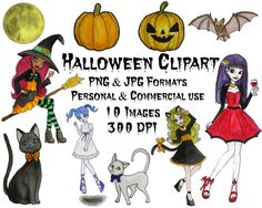 Halloween Clipart Halloween Clip art Halloween png by TTLGC