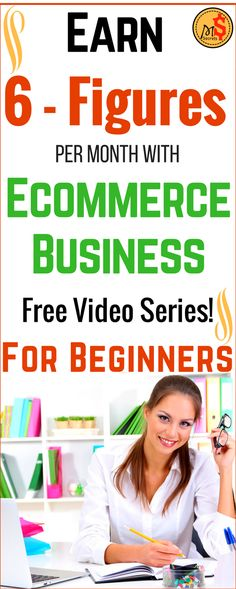 Online business Ideas - Start your own Ecommerce business and  Make money online from home in 2017. The best ways to earn passive income online. Work from home and earn 6 - Figures per month with genuine method. Free Training Video Series for Beginners. Click the pin to see more >>>
