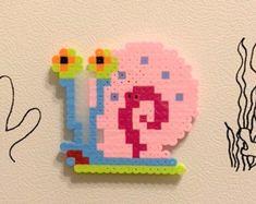 SpongeBob's house Perler bead magnet – Famous Last Words Quilting Beads Patterns Perler Bead Templates, Diy Perler Beads, Perler Bead Art, Pearler Beads, Melty Bead Patterns, Pearler Bead Patterns, Perler Patterns, Beading Patterns, Melty Beads Ideas